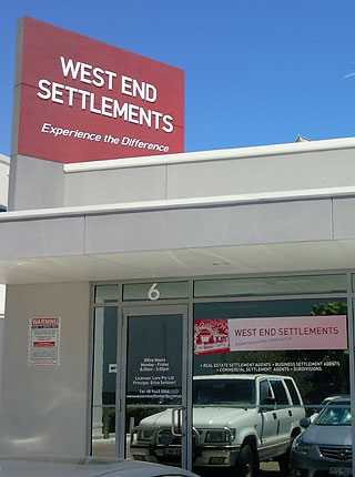West End Settlements office